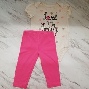 Place and Healthtex, Baby Girl's, Outfit
